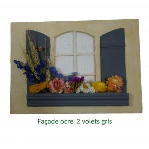 Tableau blé et fleurs - modèle 2