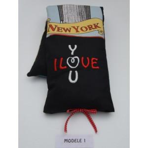 Coussin Bouillotte New York