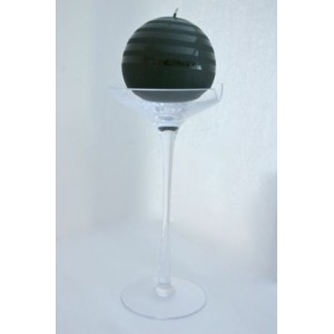 "Bougie Saturn et son chandelier ""cristal"""