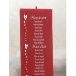Bougie Anniversaires de Mariage (20 ou 24 cm)