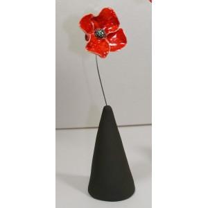 Coquelicot en vase