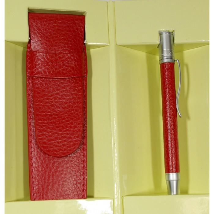 stylo en cuir et son tui cadeaux pour toi et moi. Black Bedroom Furniture Sets. Home Design Ideas