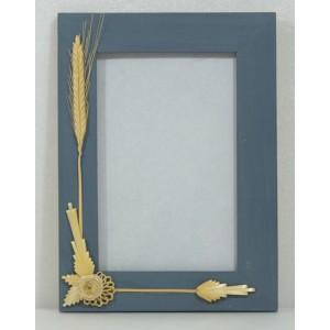Cadre photo décor blé