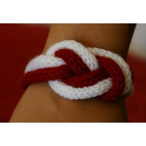 Bracelet Laine Infini 2 couleurs