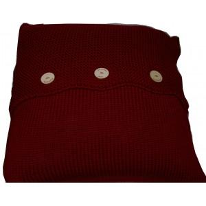 Coussin  laine personnalisable (5 couleurs)