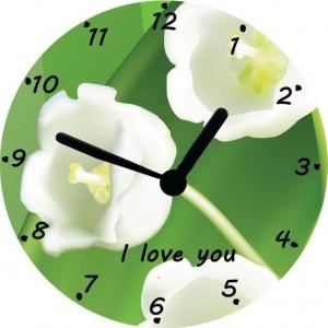 Horloge Muguet