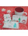 Douceur de Noël personnalisable -  carte de voeux