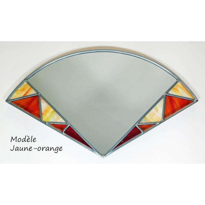 Vitrail Miroir Modele sapin vitrail cadeaux pour toi et moi - noce de plomb - apsip