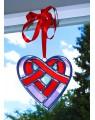 Coeur en  vitrail