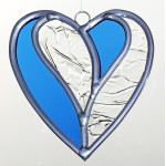 Méli-mélo Coeur en  vitrail