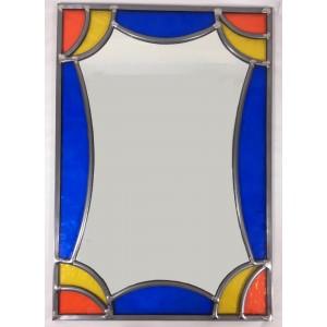 Miroir éventail drapé