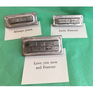 Amour de Presse-papiers typographique (3 messages)