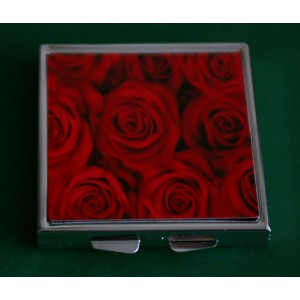 Miroir de sac aux roses