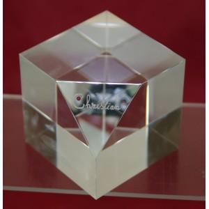 Prénom sur cristal